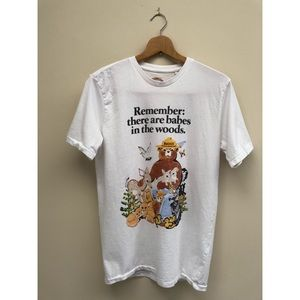 NWT Lucky Brand Babes in the Woods Graphic Tee S